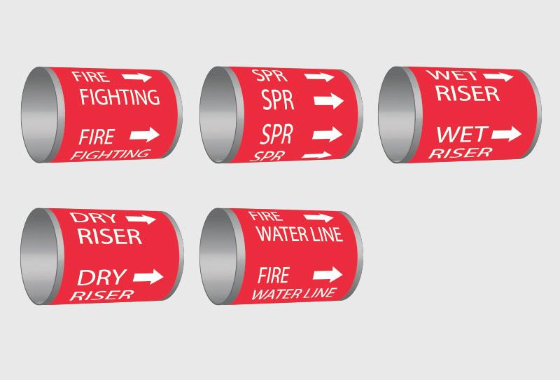 triala labels fire fighting labels in dubai uae