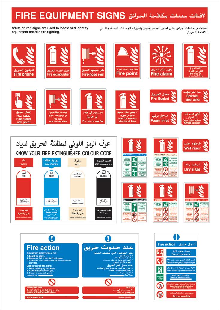 Safety Signs In Dubai Uae