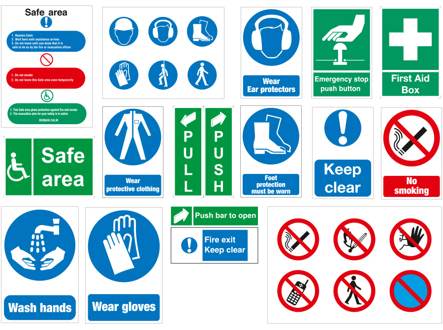 Safety Signs In Dubai Uae